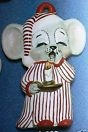 Alberta Ornaments 0229 mouse in nightshirt