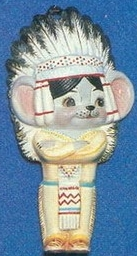 Alberta Ornaments 0239 Indian mouse