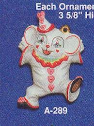 Alberta Ornaments 0289 clown mouse