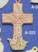 Alberta Ornaments 0323 cross