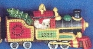 Alberta Ornaments 0418 Christmas Train Engine