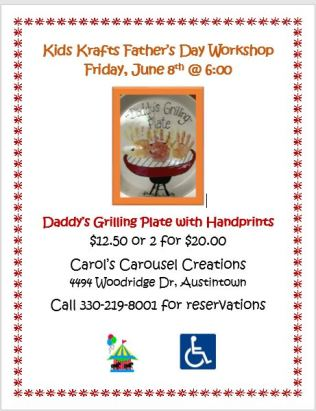 KK 6-8-2018 Daddys Grilling Plate POSTER