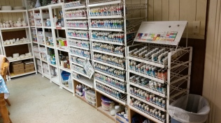 paint shelves 6-14-18