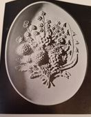 Atlantic 619 flower bouquet plaque