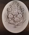 Atlantic 620 flower bouquet plaque