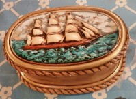 B&C clipper ship box CC