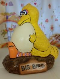 Big Bird with Egg