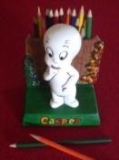 casper as pencil holder