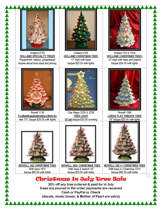 Christmas in July 2018 Trees page 2
