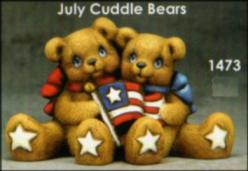Clay Magic 1473 July cuddle bears