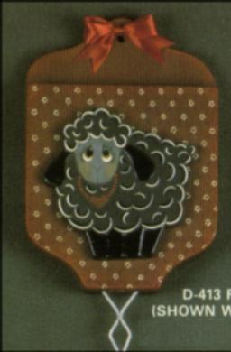 Dona 0413 Folk Art Flyswatter Holder