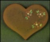 Dona 0419 folk art heart