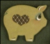 Dona 416 Folk Art Pig