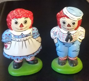 Duncan 0573 Raggedy Ann & Andy Miniatures