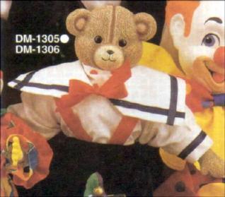 Duncan 1305 teddy bear head (may need 1306)