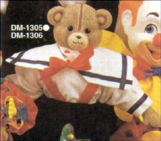 Duncan 1305 teddy bear head (may need 1306)