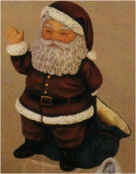 Duncan 75B large Santa Claus