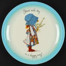 Fantasy 0343 holly hobby plate
