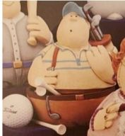 Gare 1354 Roly-Poly Golfer