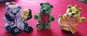 Gare 2977Tewlve Days of Christmas Bears 4-6 CC