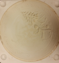 Golland 2021 Christmas Plate mold 11-in