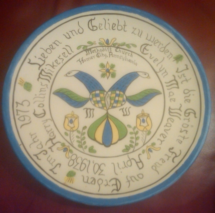 Holland 0027 plain plate (10-in) Lieben & Geliebt su werden