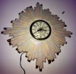 Holland 0655 sunburst clock