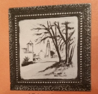 Holland 1543 ornate frame for 8-in tile