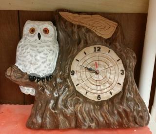 Kimple 0401 Owl Clock Bonie