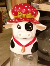 Kimple 0852 Carols cow jar lid cover