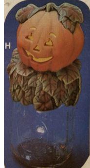 Kimple 0905 pumpkin jar lid cover