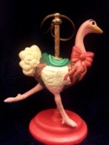 Kimple 1650 carousel ornament ostrich