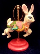 Kimple 1650 Carousel Ornament Rabbit (Bunny) 2