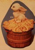 kimple 674 bunny top for bushel basket