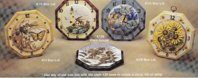 kinzie 0129 octogon base (for clock)