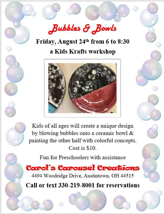 KKK Bubbles & Bowls 8-24-18