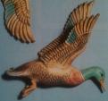 male decorator wall duck