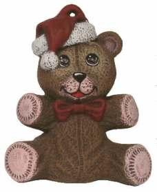 Nowell 0402 teddy bear ornament