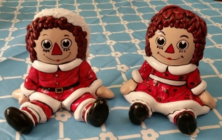 RAggedy Ann & Andy in Santa Suits CC