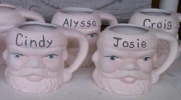 Santa Workshop 1 pic 3 Santa Mugs