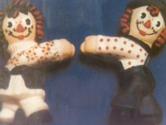 Scioto 0080 Raggedy Ann & Andy macrame beads
