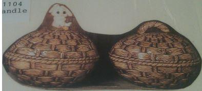 Scioto 0309 basket weave Easter egg box
