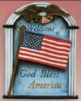 Scioto 3940 God Bless America plaque