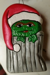 Sesame Street Ornaments Oscar the Grouch CC