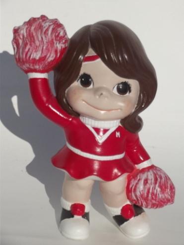 smiley cheerleader 3