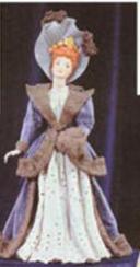 Alberta 0047 slim skirt doll