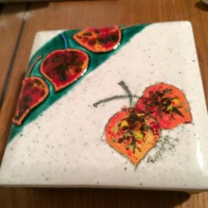 Aspen Leaves box