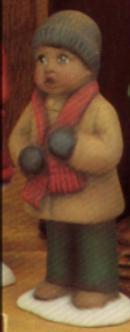 Clay Magic 1275 small AfAm boy caroler
