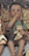 Clay Magic 1285 small boy sucking thumb