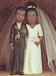 Clay Magic 1346 child bride & groom